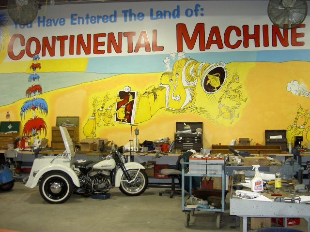 Machinery/Land Of Continental